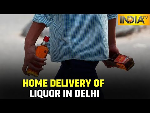Home Delivery Of Liquor Approved In Delhi, Delivery To Be Made Through Apps, Web Portals