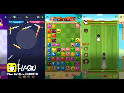 video review of Hago-Talk, Live & Play Games