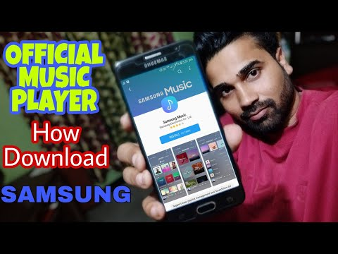 Galaxy Samsung Music player official how download & install Any Samsung Device [HINDI]