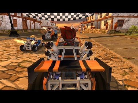 video review of Beach Buggy Racing