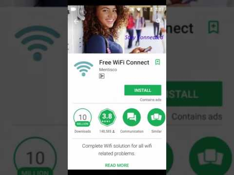 Free WiFi Connect