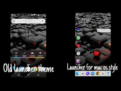 Launch new theme in 60 sec.. Launcher for mac os style........ Intro master