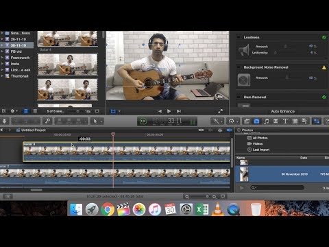 Record and Edit your Guitar Videos like a Pro