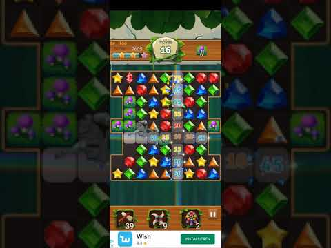 Jewels Jungle 💎 - Jewels & Gems Match 3 Puzzle 2021 Level 166 ⭐⭐⭐ no Booster 👑 Android Gameplay ✅