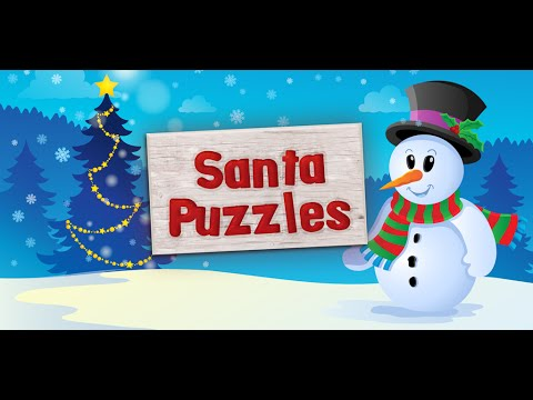 video review of Christmas Puzzle Games