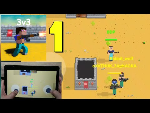 Arena: Noob vs Pro Game Part 1 (Android, Tablet Gameplay)