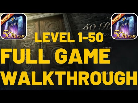 New 50 Rooms Escape ALL LEVELS 1-50 Walkthrough (Android)