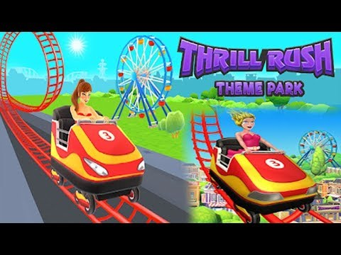 Great Thrill Rush trailer: fast racing game for theme park and roller coaster