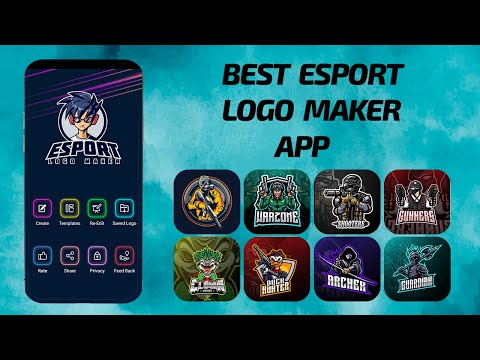 How to use esports logo maker app | Create gaming logo maker app for Android 2021