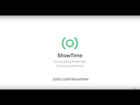 video review of ShowTime Viewer from Zoho