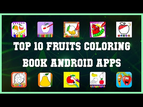Top 10 Fruits Coloring Book Android App | Review