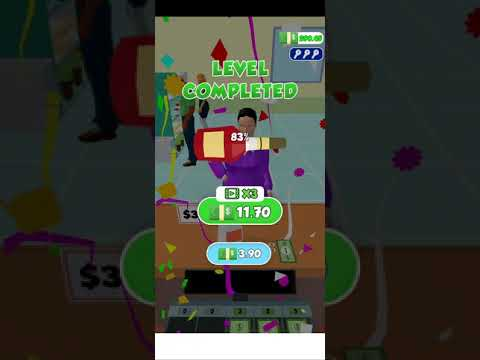 Android Cashier 3D Game