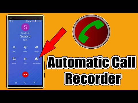 Automatic Call Recorder For Android - Automatic Call Recorder