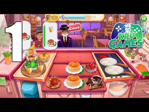 TASTY WORLD: Kitchen tycoon - Burger Cooking games Gameplay Walkthrough #1 (Android, IOS)