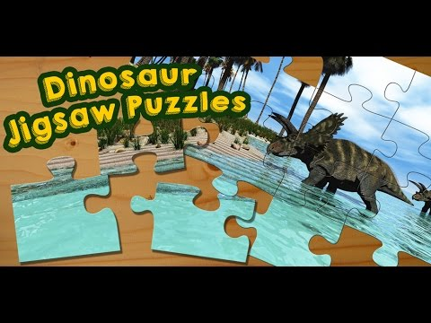 video review of Dinosaurs Jigsaw Puzzles Game