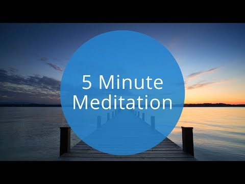 5 Minute Guided Meditation   Quick 5 Minute Meditation to Relax and Recharge by Breethe.