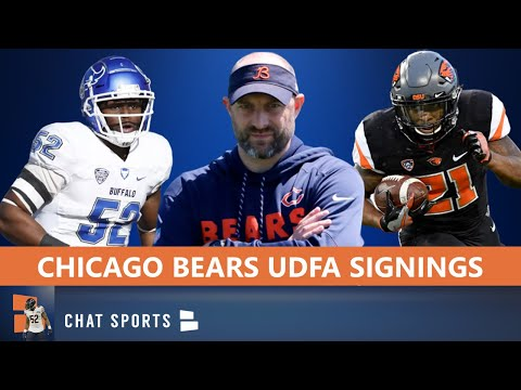 Chicago Bears UDFA Tracker: Here Are All The UDFAs The Bears Have Signed After The 2020 NFL Draft