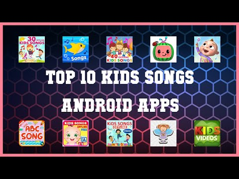 Top 10 Kids Songs Android App | Review