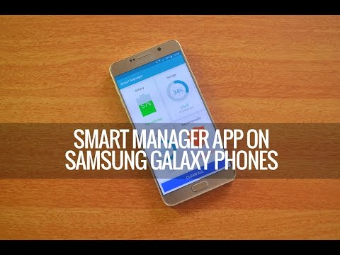 Smart Manager on Samsung Galaxy Phones - How to Use it