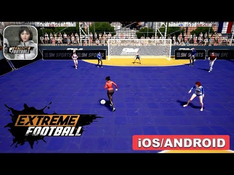 EXTREME FOOTBALL - ANDROID / iOS GAMEPLAY