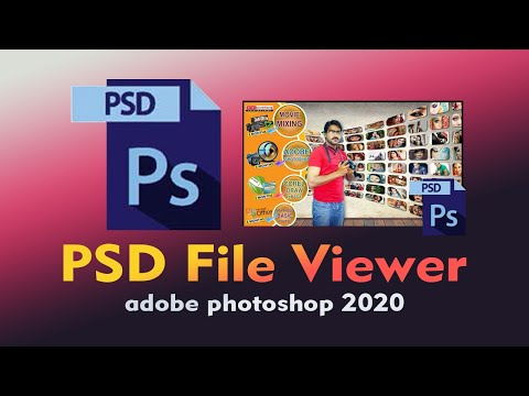 PSD File Viewer | Photoshop File Viewer | show PSD file Thumbnail