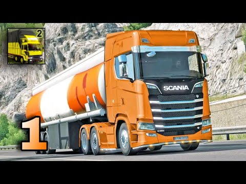 Euro Truck Transport Simulator 2: Cargo Truck Game Gameplay (Android/Ios) - PJ Solution