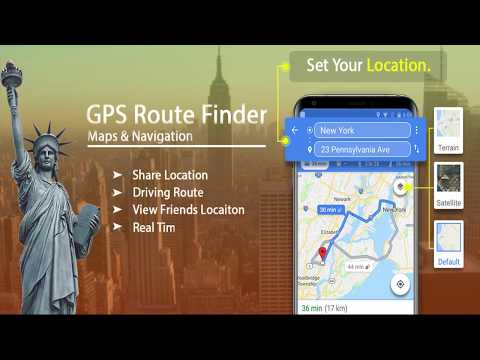 Free GPS Navigation & Transit : Maps & Route Finder