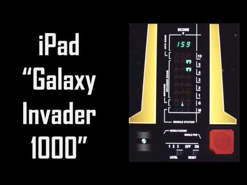 Galaxy Invader 1000 App Vs Real Galaxy Invader 1000