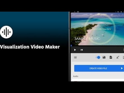 How To Make Visualization Video Maker For YouTube |UC| Audio/Video Visualizer on Android