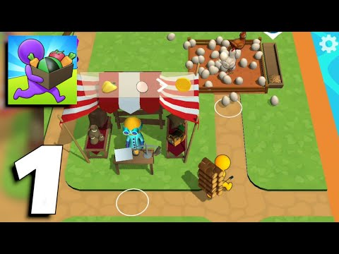 Buildy Island 3d: Hire&Craft Casual Adventure - Gameplay Part 1 (Android, iOS)