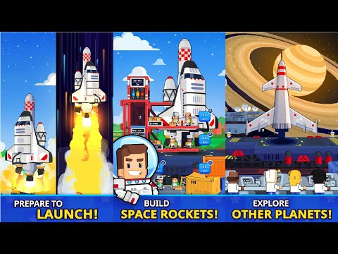 Rocket Star - Idle Space Factory Tycoon Games Android Gameplay