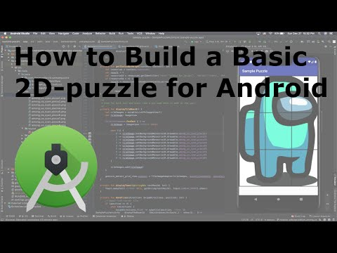 How to Build a Basic 2D-puzzle for Android