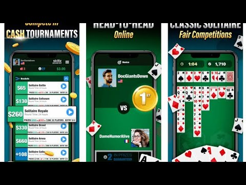 New android games Solitaire. A real way to make money online. I earned 40 dollars in two hours