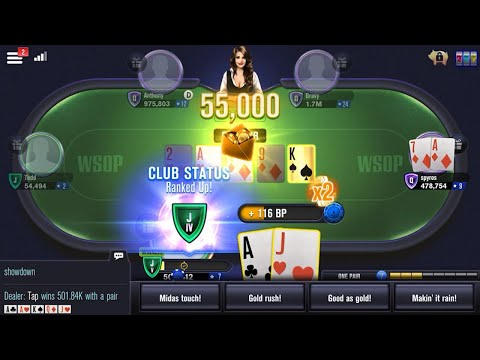 WSOP Poker - Texas Holdem 🃏 Gameplay Android, iOS #1