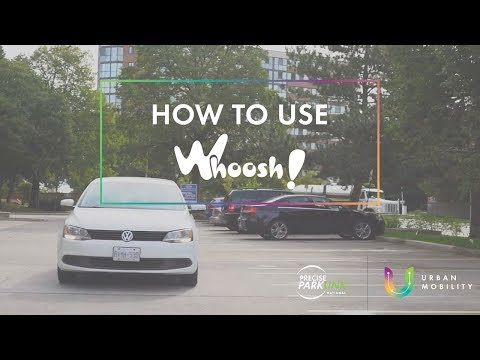 How To Use Whoosh! Pay-by-Phone Parking App