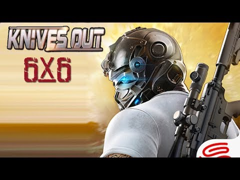 Knives Out-6x6km Battle Royale Android Gameplay ᴴᴰ