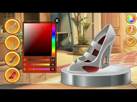 Shoe Designer Game For Kids and Toddlers -  Fashion Shoe Maker and Creative Shoe Coloring