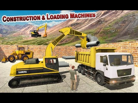 City Construction Road Builder Simulator Android Gameplay