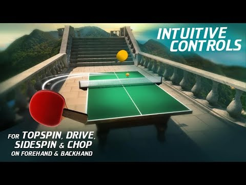 World Table Tennis Champs Android Gameplay