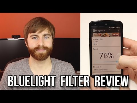 Bluelight Filter App Review! - Flux for Android