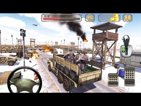 Us Army Truck Driving Truck Simulator 2019 - Android GamePlay 3D