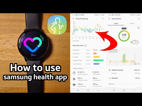 How to use Samsung Health app with Galaxy Watch Active 2