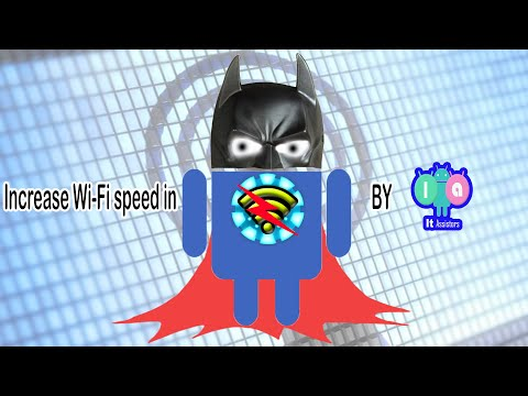 Increasing WiFi speed in android