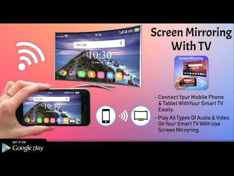 How to Connect Android Phone to Smart TV | Screen Mirroring | Wireless Display 100% Works