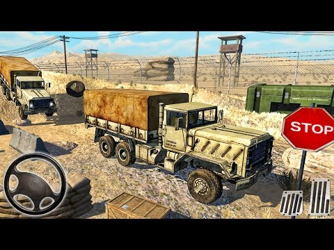 US Army Truck Pro: Army Transport Offroad Driving - Android GamePlay