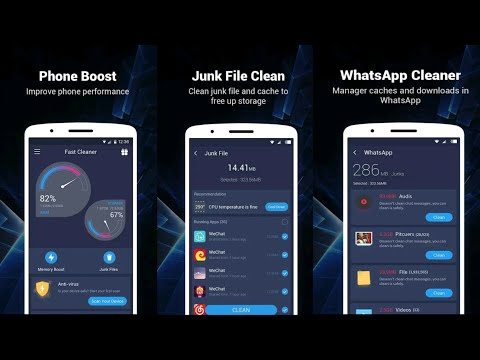 How to Use Fast Cleaner - Speed Booster & Cleaner for Android 2021