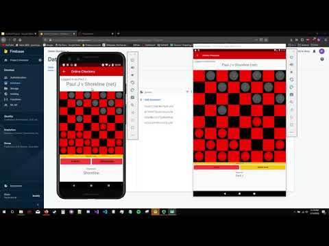 Online Checkers Android App