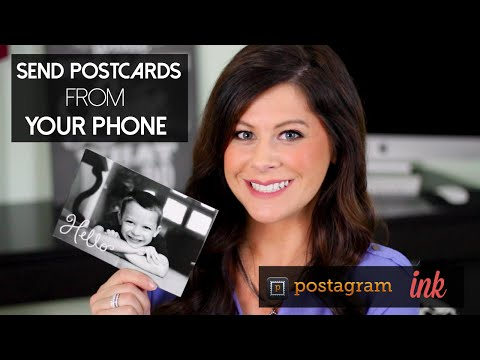How To: Send custom postcards from your phone