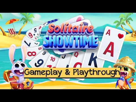 Solitaire Showtime: Tri Peaks Solitaire Free & Fun (by Jam City) - Android / iOS Gameplay