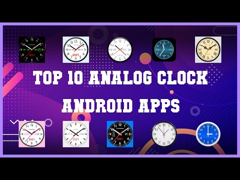 Top 10 Analog Clock Android App   Review